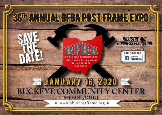 2020 BFBA Post Frame Expo Logo