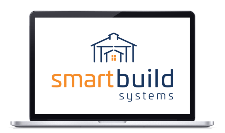 smartbuild systems logo monitor icon