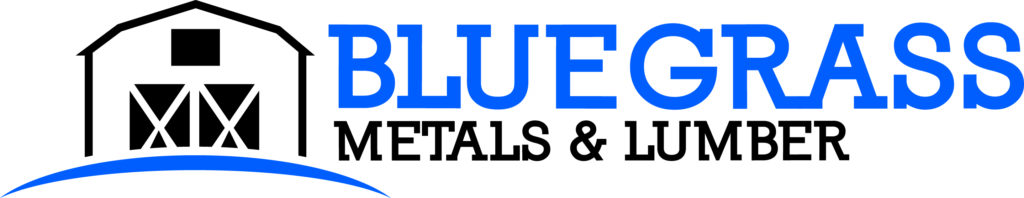 bluegrass metals and lumber logo
